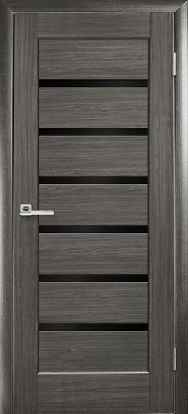 двери межкомнатные двери новый стиль ностра линнея венге черное