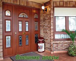 внешние входные двери